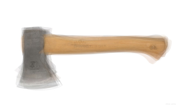 Overlay art – contemporary fine art prints of an Axe