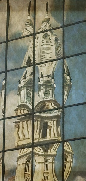 Excellent Abstract Photo of City Hall. Richard London