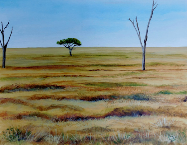 """""""African Plain"""" by Gina Harding 