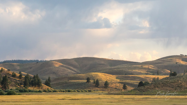 Golden Hills at Magic Hour Photo for sale by Barb Gonzalez Photography.