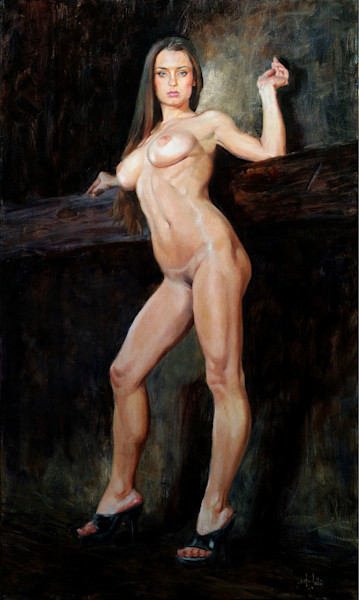 Original nude paintings available by Eric Wallis.