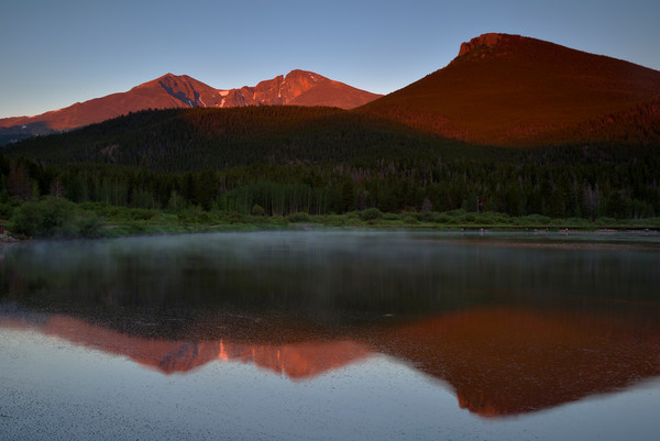 Lily Lake Sunrise
