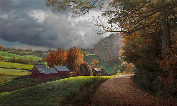 Memories of October on Fine Art Paper and Canvas for Sale