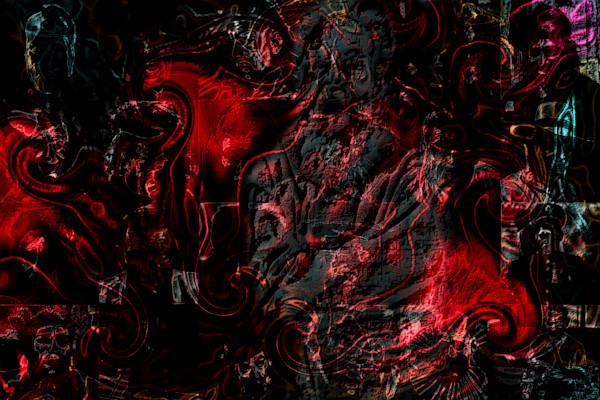The unseen personal Hell | Mark Humes Gallery