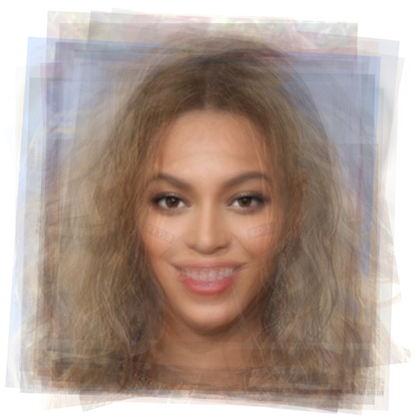 Overlay art – contemporary fine art prints of Beyonce