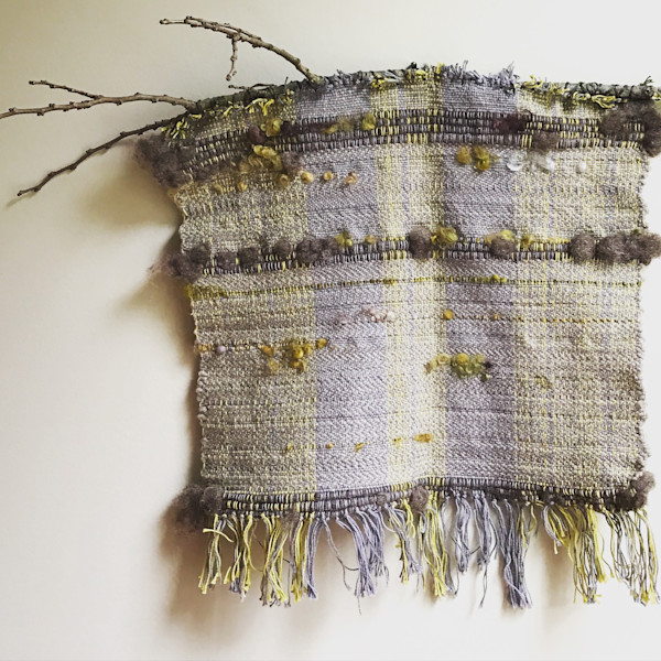 Shop for original fabric pieces like Forest Floor, by Leigh Jacobs at Matt McLeod Fine Art Gallery.