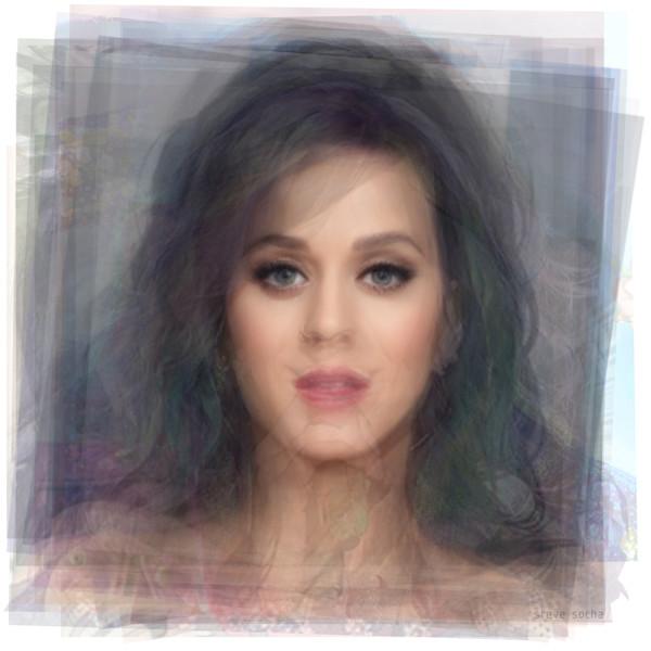 Overlay art – contemporary fine art prints of Katy Perry