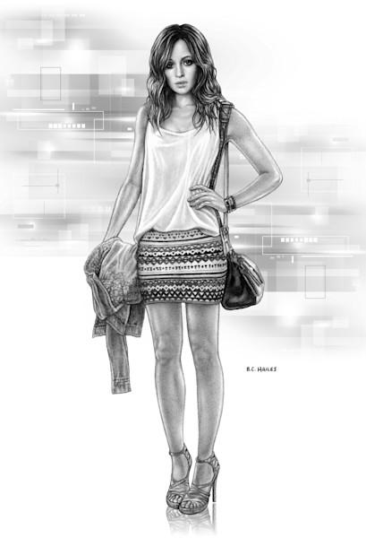 Emma Campbell Character Portrait Art