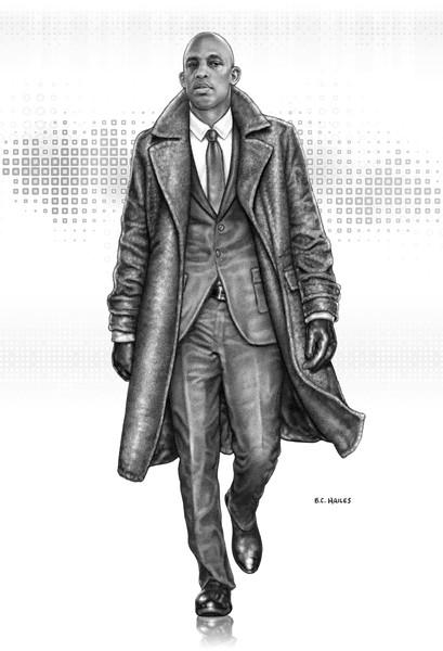 Dr. Jamal Hart Character Portrait Art