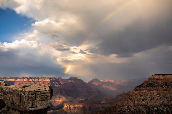 Grand Canyon Rainbow Photograph Art