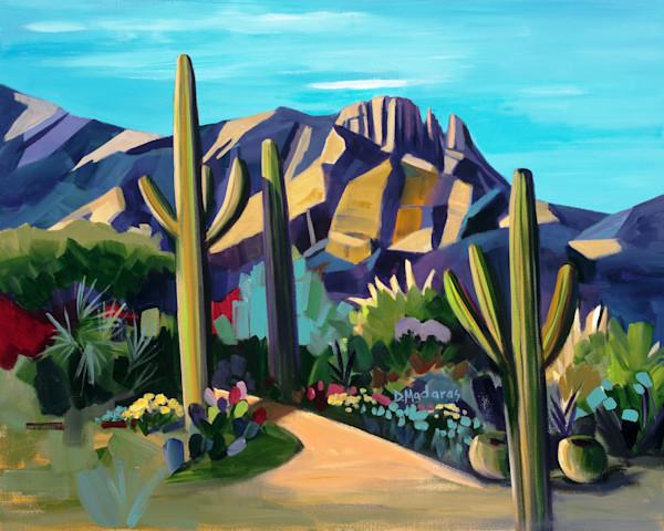 Desert Landscape Painting | Southwest Art | Hughes Finger Rock