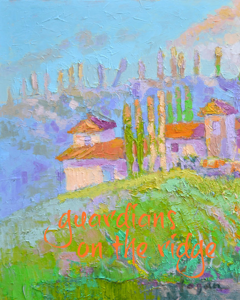 """""""Guardians on the Ridge""""  Real Words for Real Women, Dorothy Fagan inspirational artist"""