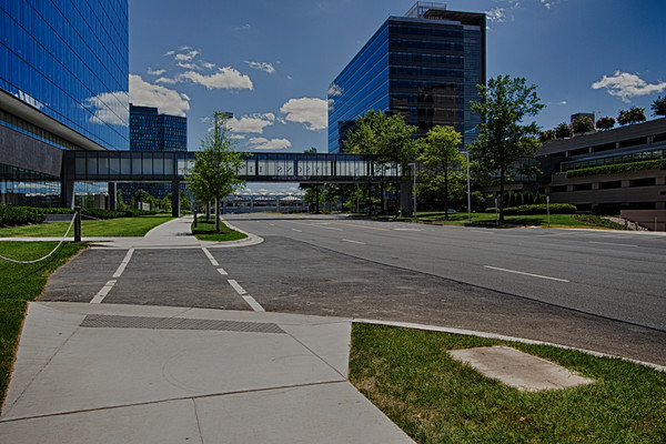 A Fine Art Photograph of An Afternoon at Tysons II by Michael Pucciarelli