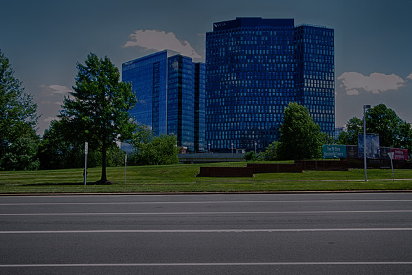 A Fine Art Photograph of Vita in Tysons II by Michael Pucciarelli
