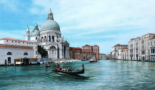 View of the Santa Maria della Salute