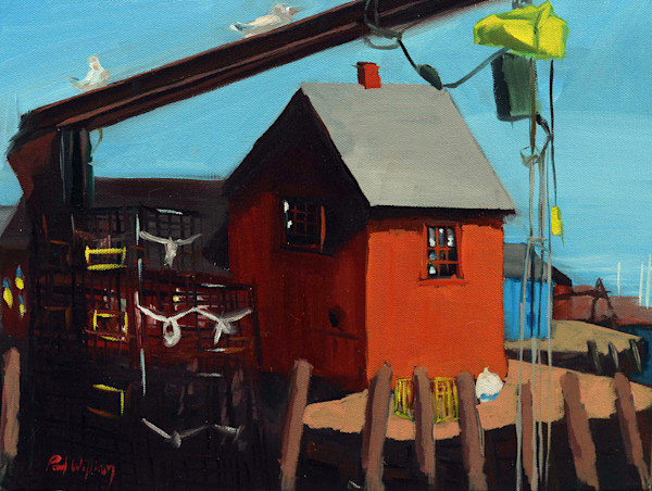 Motif Number 1 painting by Paul William | Art for Sale