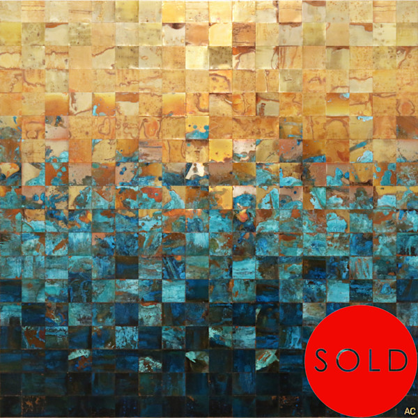 Buy original copper artwork by Canadian contemporary artist Adam Colangelo.