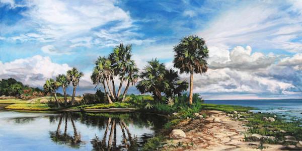 Coastal Preserve beach print | Kevin Grass Fine Art