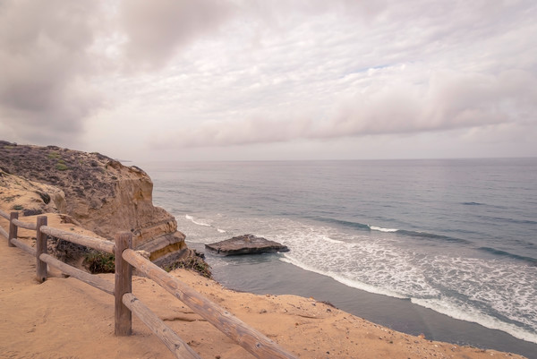 Sitting Rock at Torrey Pines | Susan J Photography