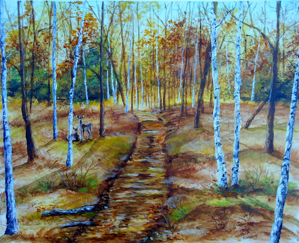 """""""Fall Path"""" by Gina Harding 