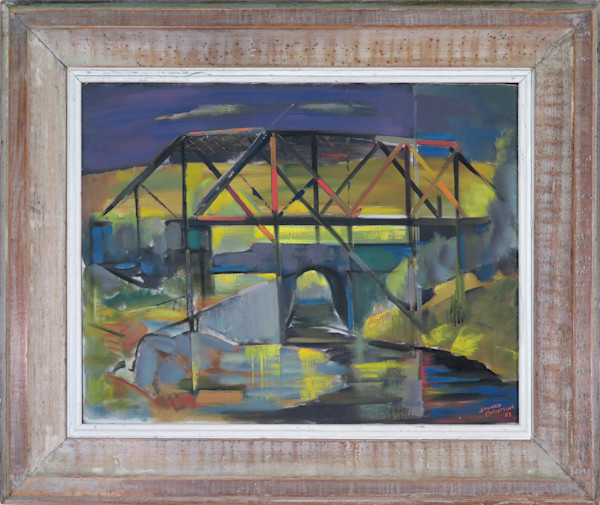 Bridge Modernist Abstract Painting