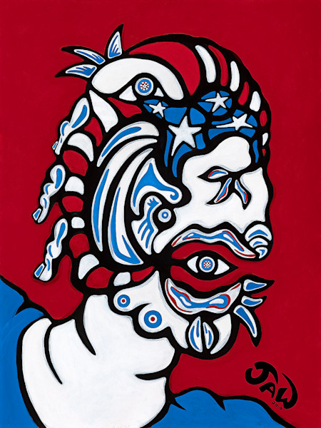 Shop for original prints like Captain Crude, on Aluminum by Jeff Waddle at Matt McLeod Fine Art Gallery.