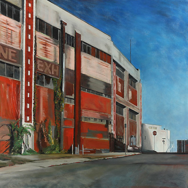 Memphis Red Original Oil Painting