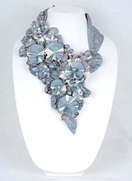 Reef in Grey and White with Blue Sparkles