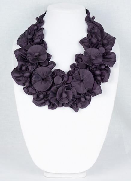 Floral Garden Beads in Purple
