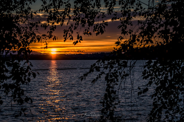 Sunset on Lake Washington