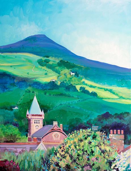 Abergavenny Town Hall Art Print