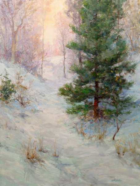 Winter Touches by Eric Wallis