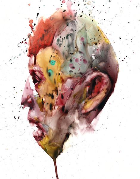 Watercolor Portraits- painted on Yupo paper- by Akira Beard