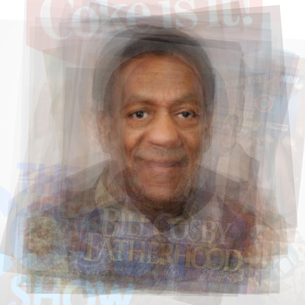 Overlay art – contemporary fine art prints of Bill Cosby