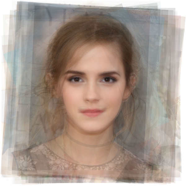 Overlay art – contemporary fine art prints of Emma Watson
