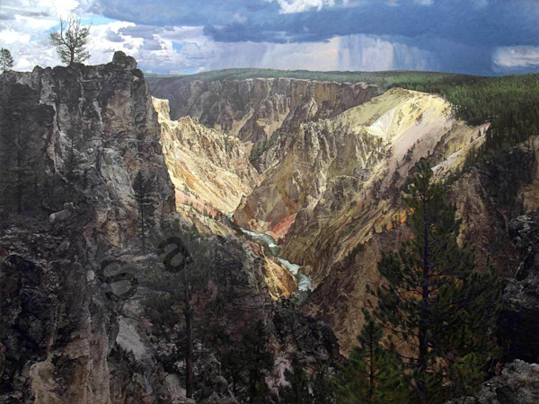 """Grand Canyon of the Yellowstone"""