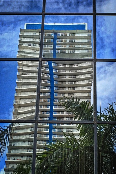 Beauty in Brickell photograph for sale. Richard London