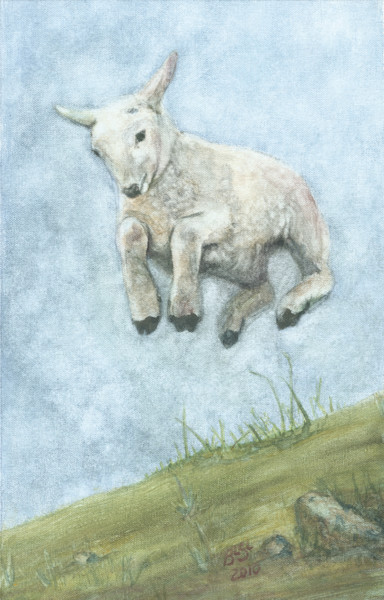 Lamb Leaping