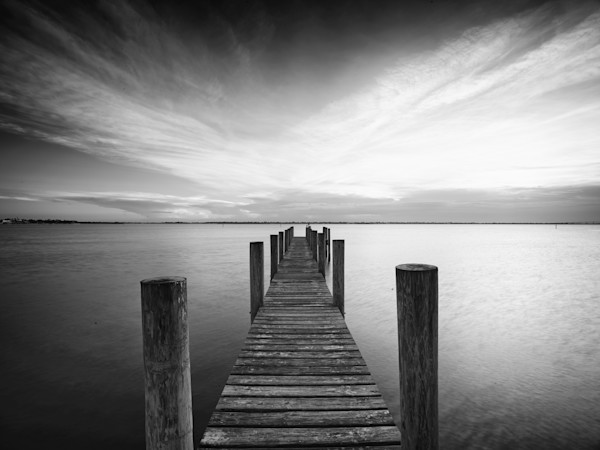 Black and White Florida Photography for sale by David Knight.