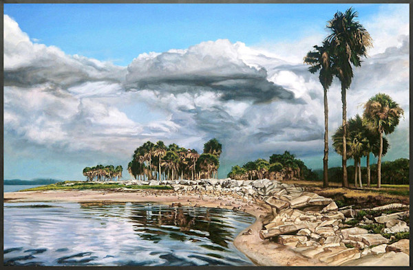 Florida Realism beach painting | Kevin Grass Fine Art