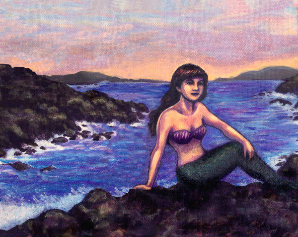 mythic, creatures, mystical, mermaid art, scenes with mermaids