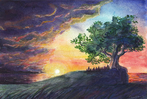 """""""Together In Faith Through The Storm"""" by Signe Flink 