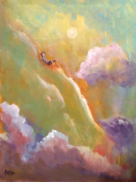 """Psalm 46"" by Mary Fusco | Prophetics Gallery"