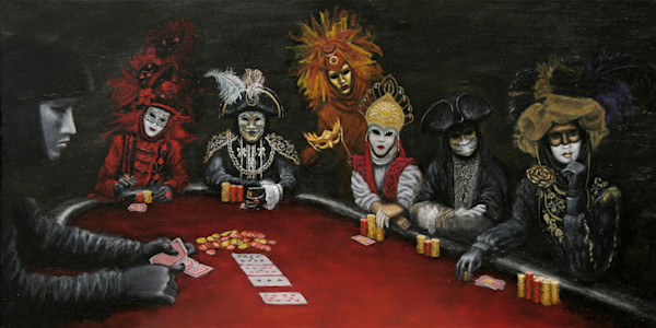 Poker Face art paintings for sale