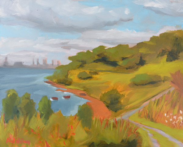 Spectacle Island painting by Paul WIlliam | Art for Sale