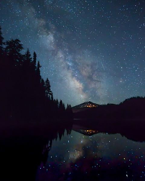 Milky Way over Mt Bachelor