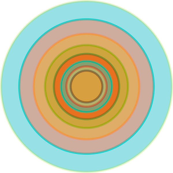 Orbital. A series of meditative art prints by Paul Westacott