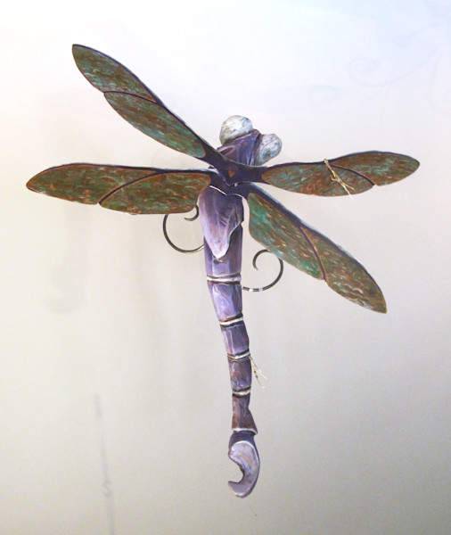 sculpture dragonfly insect carving  art