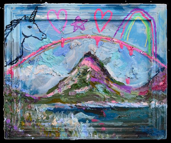 Sticker Volcano