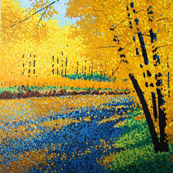 Alberta Forest A Walk In The Woods Art and Paintings For Sale